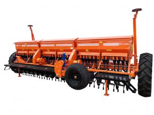 Сеялка зерновая СЗФ - 5400 - 06 с прикатывающими каткамим Фаворит