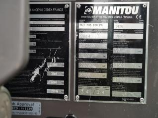Телескопический погрузчик Manitou MLT 735 2014 г.